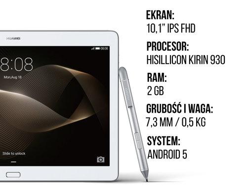 Huawei MediaPad M2 specyfikacja
