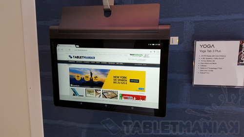 Lenovo YOGA Tab 3 Plus / fot. tabletManiaK.pl
