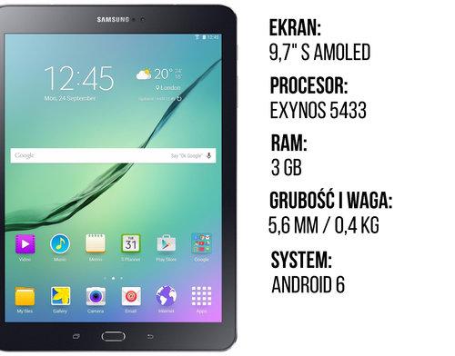 Samsung Galaxy Tab S2 specyfikacja v2