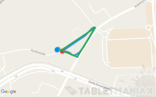 Niebieski - Yoga TAB3 7, zielony - redaKtor/fot. gsmManiaK.pl