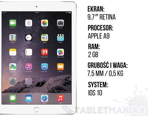 iPad 2017 specyfikacja