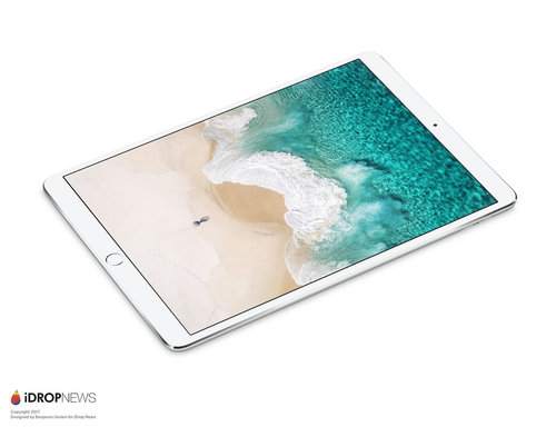 Render 10.5-calowego iPada Pro / fot. iDropNews