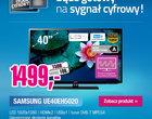 Samsung UE40EH5020: proste rozwiązanie na polską cyfryzację