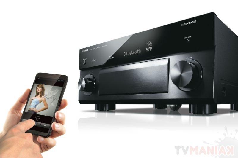 Amplitunery AV Yamaha RX-A1050 oraz RX-A250 / fot. prod.