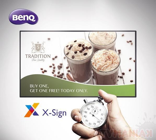 BenQ_ST550K with X-sign App / fot. prod.