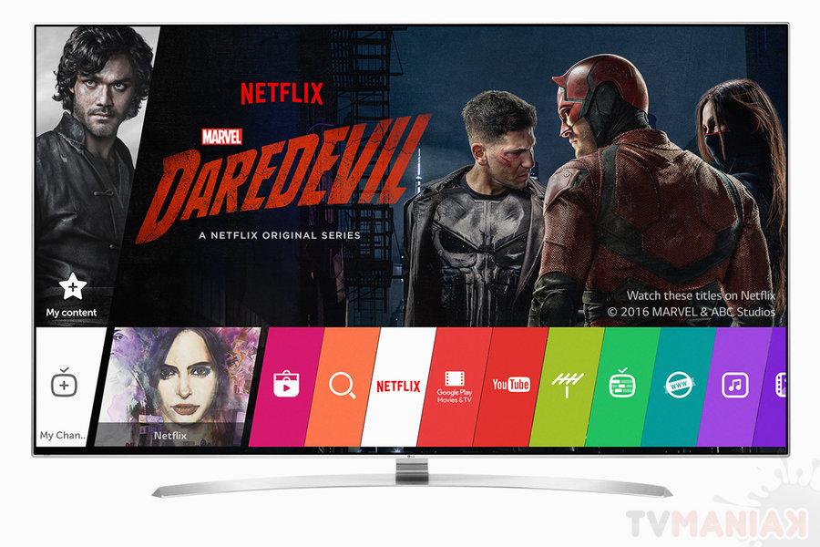 Netflix rekomenduje korzystanie z telewizorów LG