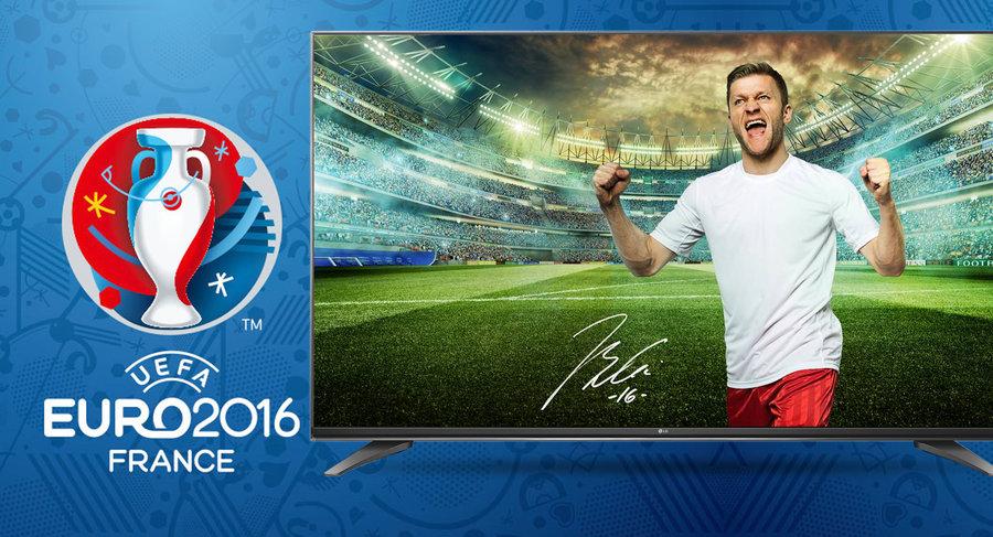 Jaki telewizor na Euro 2016