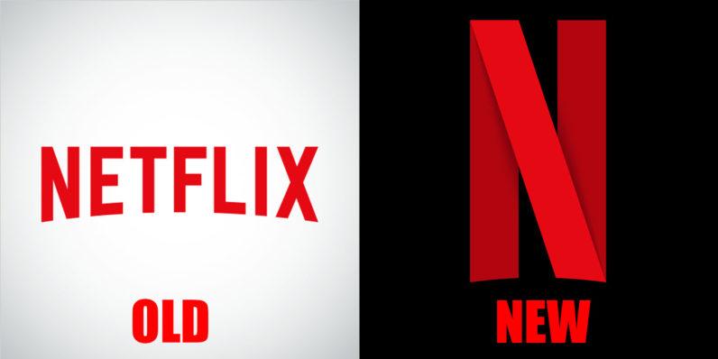Nowe logo / fot. Netflix