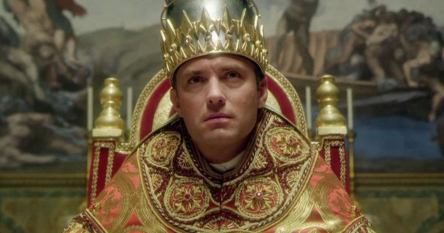 "Kadr z trailera serialu ""Young Pope"""