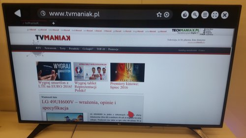 LG 55LH6047 / fot. tvManiaK