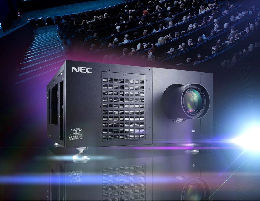 NEC na świecie sprzedał już 1000 projektorów kinowych