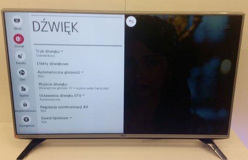 LG 43LH560V / fot. tvManiaK