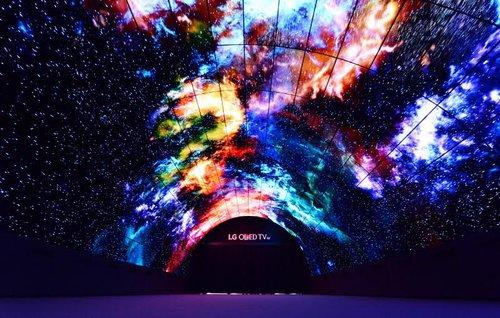 Tunel LG OLED / fot. LG