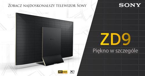 fot. Sony BRAVIA ZD9 / mat. partnera